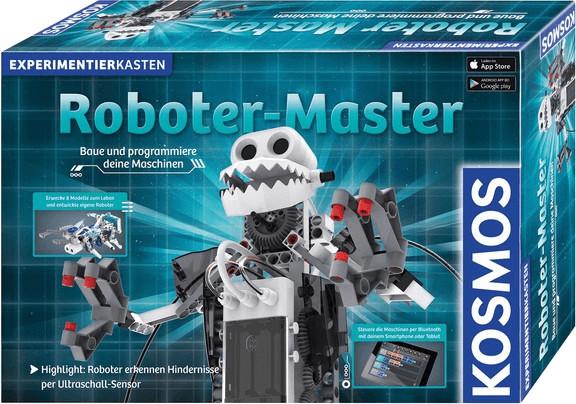 Bild zu Kosmos Roboter-Master Experimentierkasten für 59,99€ (Vergleich: 94,57€)