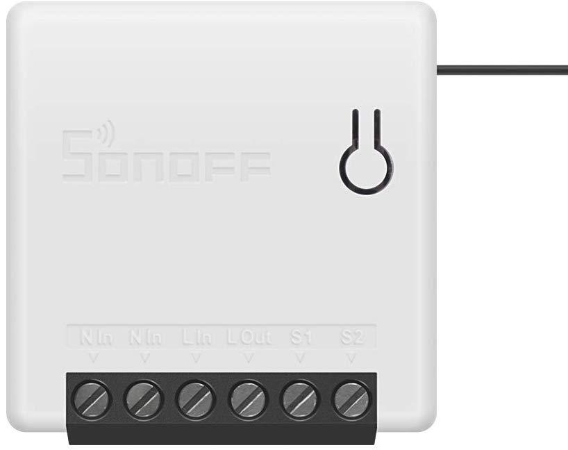 Bild zu Docooler SONOFF Mini Zwei-Wege-Smart-Switch mit Google und Alexa Unterstützung für 8,29€