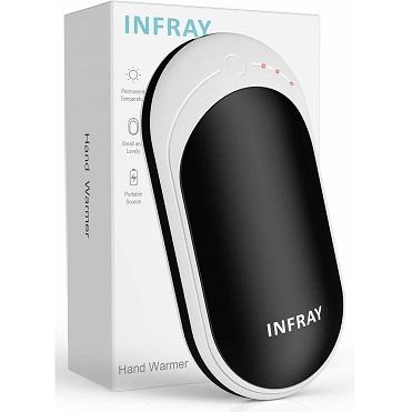 Bild zu Wiederaufladbarer infray Handwärmer mit 5.200mAh Powerbank für 13,19€