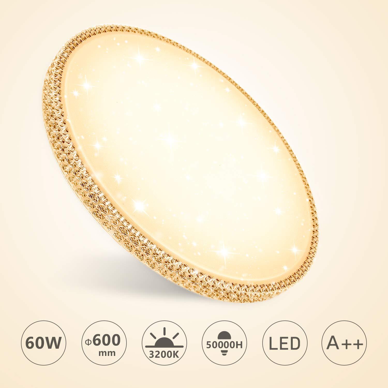Bild zu Hengda LED-Deckenleuchte mit 50% Rabattcode, so z.B. 60W 4800Lm für 28,49€