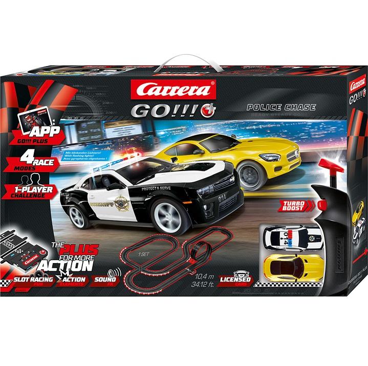 Bild zu Autorennbahn Carrera Go!!! Police Chase für 54,94€ (Vergleich: 81,94€)