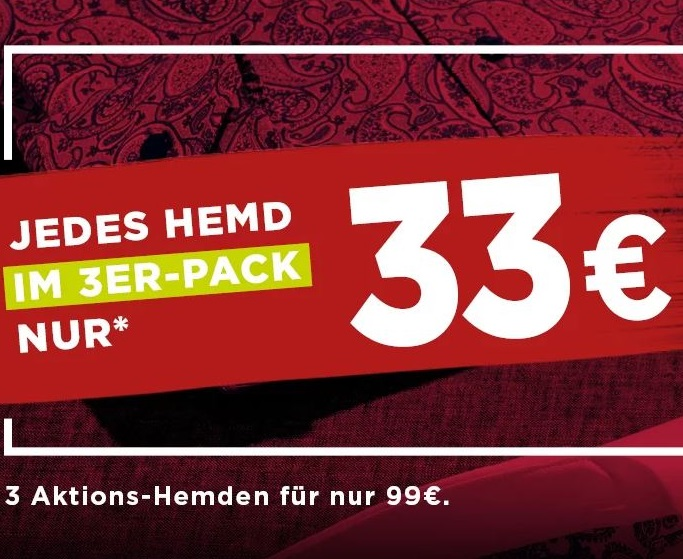 Bild zu Eterna: 3 Hemden aus einer Auswahl von 350 für 99€