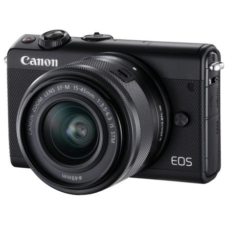 Bild zu Systemkamera Canon EOS M100 Kit mit EF-M 15-45 für 249€ (Vergleich: 300,92€)