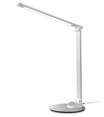 Bild zu TaoTronics LED Schreibtischlampe (5 Farbmodi + 5 Helligkeitsstufen, USB Ladeanschluss) für 26,58€