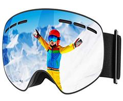 Bild zu Mpow Kinder Skibrille mit Anti-Fog-UV-Schutz für 8,99€