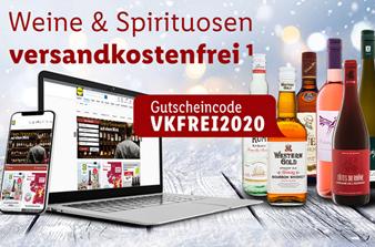 Bild zu Lidl: Weine & Spirituosen versandkostenfrei ab 29€ versandkostenfrei bestellen