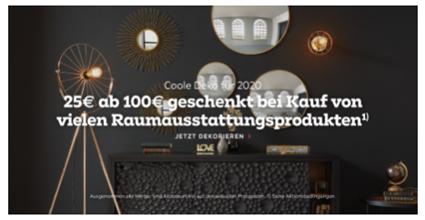 Bild zu Mömax: 25€ Rabatt auf Raumausstattungsprodukte ab 100€