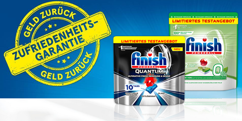 Bild zu Finish Quantum Ultimate & Finish 0% gratis testen