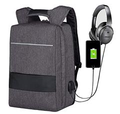 Bild zu Mbuynow 17 Zoll Laptop Rucksack mit USB- und Kopfhörer Anschluss (wasserdicht) für 9,99€