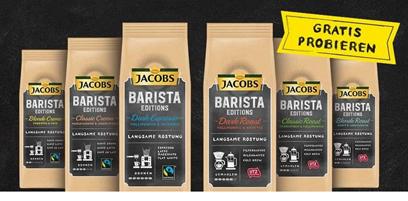 Bild zu Jacobs Barista Editions Kaffee gratis testen