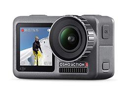Bild zu DJI Osmo Action Cam Digitale Actionkamera mit 2 Bildschirmen, 11m wasserdicht, 4K HDR-Video, 12MP, 145° Winkelobjektiv für 230,92€ (VG: 278€)