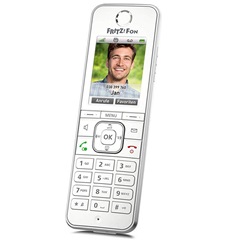 Bild zu [bei Zahlung per Mastercard] AVM Fritz!Fon C6 DECT-Komforttelefon für 50€ (VG: 68€)