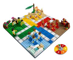 Bild zu Lego Exklusiv 40198 Ludo-Spiel (Brettspiel) für 31,49€ (Vergleich: 42,90€)