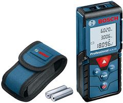 Bild zu [Schnell] Bosch Professional GLM 40 Laser-Entfernungsmesser (0,15 – 40 m Messbereich, 2×1,5 V LR03, AAA Batterien, Schutztasche) für 38,09€ (VG: 67€)
