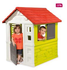 Bild zu [nur heute] Smoby Natur Haus ab 94,99€ (VG: 143,99€)