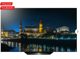 Bild zu [bis Montag 8 Uhr] LG OLED65B97LA OLED TV (Flat, 65 Zoll/164 cm, UHD 4K, SMART TV, webOS 4.5 (AI ThinQ)) für 1699,15€