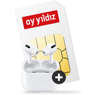 Bild zu Ay Yildiz Ay Allnet (4,5GB LTE Datenflat, SMS- und Sprachflat) im o2-Netz inkl. Apple AirPods Pro für 14,99€/Monat