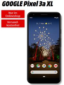 Bild zu GOOGLE Pixel 3a XL für 49€ (Vergleich: 410,99€) mit 6GB LTE Datenflat sowie Sprachflat im Telekom Netz für im Schnitt 16,99€/Monat
