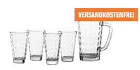 Bild zu LEONARDO 028774 Ciao Optic Gläser-Set für 9€ (VG: 14,98€)
