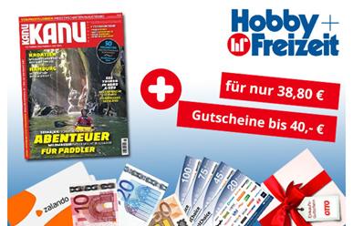 """Bild zu Jahresabo (6 Ausgaben) der Zeitschrift """"Kanu"""" für 38,80€ + bis zu 40€ Prämie"""