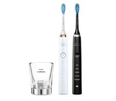 Bild zu PHILIPS HX9392/40 elektrische Zahnbürste Schwarz, Weiß/Roségold für 178,99€