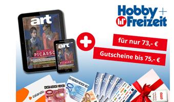Bild zu art Digital Abo ab 73€ + bis zu 75€ Prämie für den Werber