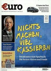"""Bild zu Jahresabo (12 Ausgaben) Zeitschrift """"€uro"""" für 101,80€ + bis zu 105€ Prämie"""