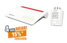 Bild zu Router AVM FRITZ!Box 7590 + FRITZ!DECT 301 für 169,99€ (VG: 238,79€)