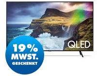 Bild zu Samsung QLED GQ55Q70R 140 cm (55″) 4K / UHD HDR QLED Smart TV für 784,47€ (VG: 921,82€)