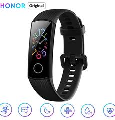 Bild zu Honor Band 5 Fitness Smart Armband 0,95 Zoll (AMOLED, Bluetooth 4.2, Smart Watch, 5ATM wasserdichte, schwarz) für 31,99€