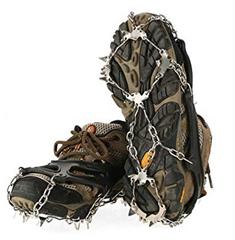 Bild zu TOMSHOO Schuhspikes mit 19 Zähnen für 9,49€