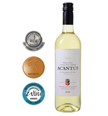 Bild zu 6 Flaschen mehrfach prämierter Acantus Sauvignon Blanc aus Spanien von 2018 für 31,89€
