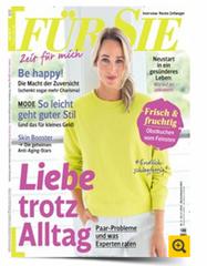 """Bild zu Jahresabo """"Für Sie"""" (26 Ausgaben) für 71,80€ + bis zu 70€ Prämie"""