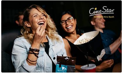 Bild zu [gültig bis Ende Februar] CineStar Kino-Gutschein für jeden Tag und alle 2D-Filme inkl. Zuschlägen und Popcorn für 9,90€