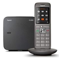 Bild zu Gigaset CL660 DECT Schnurlostelefon schwarz für 38,31€ (VG: 54,94€)