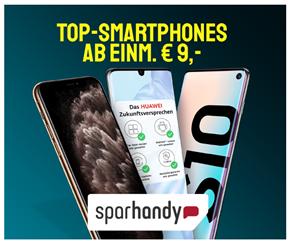 Bild zu Samsung S10 oder Huawei P30 Pro für je 9€ mit 20GB Otelo (Vodafone) LTE Datenflat, SMS und Sprachflat für 29,99€/Monat