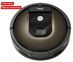 Bild zu IROBOT Roomba 980 Staubsaugerroboter für 374,99€ (VG: 437,74€)