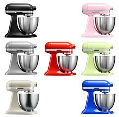 Bild zu [B-Ware] KitchenAid Artisan Mini Küchenmaschine 5KSM3311XE (3,3L] für je 189€ (Vergleich: 269€)