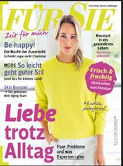 """Bild zu Jahresabo (24 Ausgaben) Zeitschrift """"Für Sie"""" ab 81,60€ inkl. z.B. 80€ BestChoice Gutschein als Prämie"""