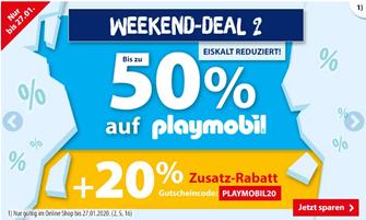 Bild zu Spiele Max: bis zu 50% Rabatt auf Playmobil + 20% Extra Rabatt