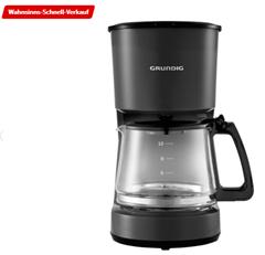 Bild zu GRUNDIG KM 4620 Harmony Kaffeemaschine Schwarz für 16,99€