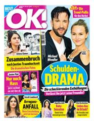 """Bild zu 6 Monate (26 Ausgaben) der Zeitschrift """"OK!"""" für 72,80€ + 75€ Amazon Gutschein als Prämie"""