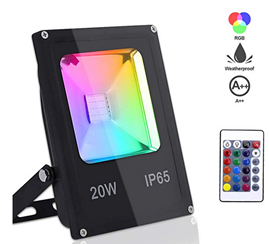 Bild zu Hengda RGB LED Außenstrahler (16 Farben, 4 Modi) in verschiedenen Ausführungen mit 50% Rabatt