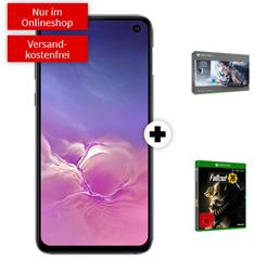 Bild zu SAMSUNG S10e & Microsoft Xbox One X 1TB – Star Wars Jedi Bundle & Fallout 76 für 99€ mit 26GB LTE Datenflat, Sprach & SMS-Flat im Vodafone Netz für rechnerisch 24,99€/Monat