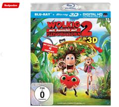 Bild zu Wolkig mit Aussicht auf Fleischbällchen 2 (3D + 2D Version) [3D Blu-ray] für 5€