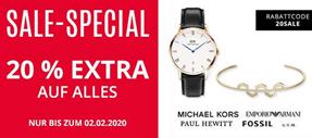 Bild zu [nur noch heute] Christ: 20% Extra-Rabatt auf bereits reduzierte Uhren