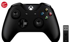 Bild zu [geht wieder] Microsoft Xbox Wireless Controller + Adapter (Windows 10) für 34,99€ (VG: 59,99€)