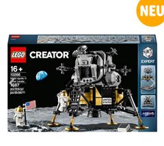Bild zu LEGO Creator Expert 10266 NASA Apollo 11 Mondlandefähre für 79,99€ (VG: 89,99€)