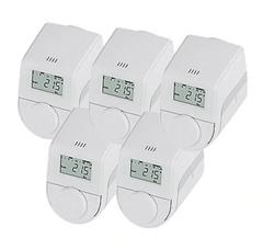 Bild zu [ausverkauft] 5er-Set eqiva Model Q Heizkörperthermostate für 19,89€ (Vergleich: 46,75€)