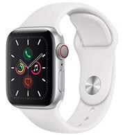 Bild zu Apple Watch Series 5 (GPS + Cellular, 40mm) Aluminium Silber für ~ 470€ (VG: 525€)